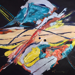 Abstract original painting for sale